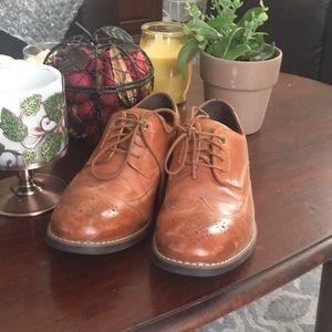 Men's Rockport shoes.